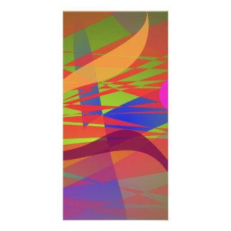 Composition Kandinsky Oriental Emulation Photo Cards