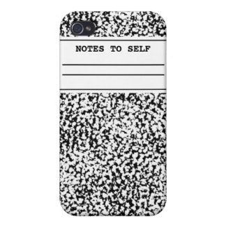 Composition Notebook  iPhone 4 Cover
