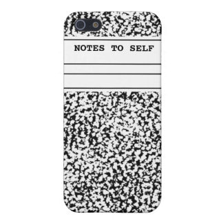 Composition Notebook  iPhone 5/5S Case