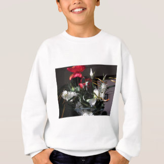 Composition of flowers sweatshirt