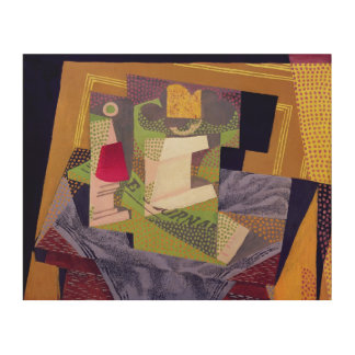 Composition on a Table, 1916 Wood Canvases