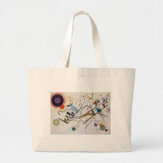 Composition VIII Canvas Bag