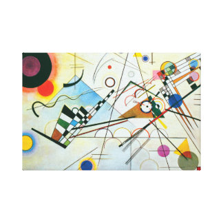 Composition VIII by Wassily Kandinsky Canvas Print