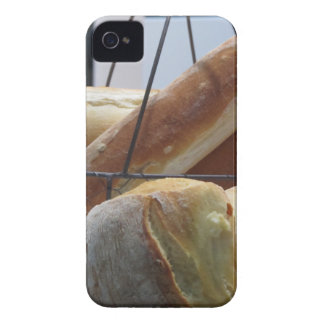 Composition with different types of baked bread iPhone 4 covers