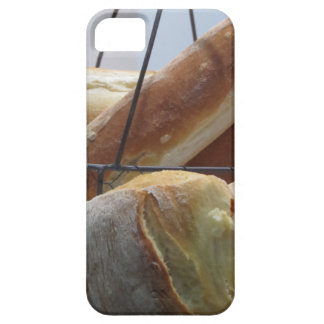 Composition with different types of baked bread iPhone 5 case