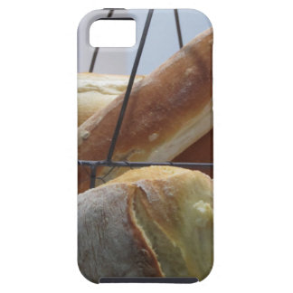 Composition with different types of baked bread tough iPhone 5 case
