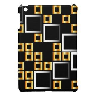 composition with squares iPad mini case