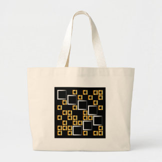 composition with squares jumbo tote bag