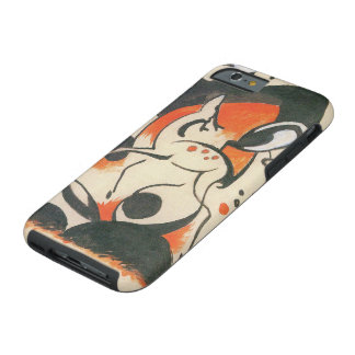 Composition with Two Deer by Franz Marc Tough iPhone 6 Case