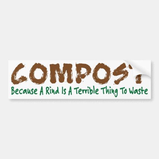 Compost Bumper Sticker