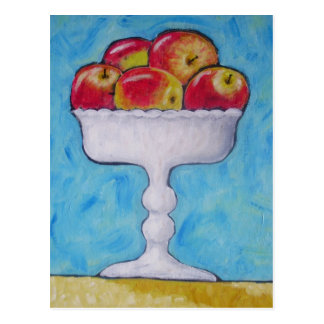 Compote of Apples Postcard