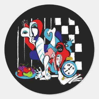 compote round sticker