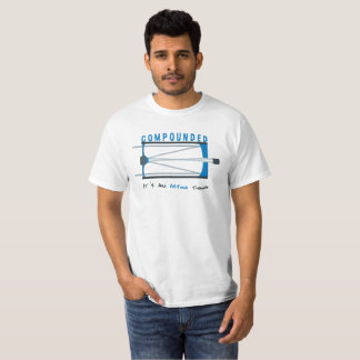 """""""Compounded"""" White Tee"""