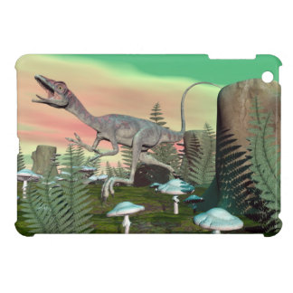 Compsognathus dinosaur - 3D render Cover For The iPad Mini