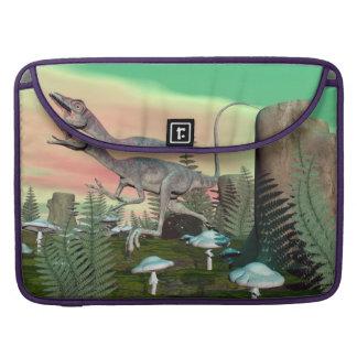 Compsognathus dinosaur - 3D render Sleeve For MacBooks