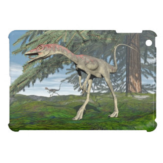 Compsognathus dinosaurs - 3D render Cover For The iPad Mini