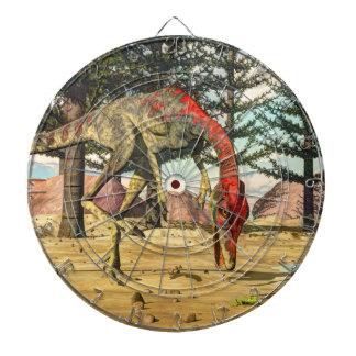 Compsognathus dinosaurs - 3D render Dartboard
