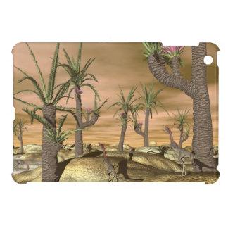 Compsognathus dinosaurs - 3D render iPad Mini Cover