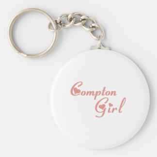 Compton Girl tee shirts Key Ring