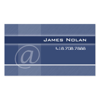 Computer Business Cards Blue Abstract Angle