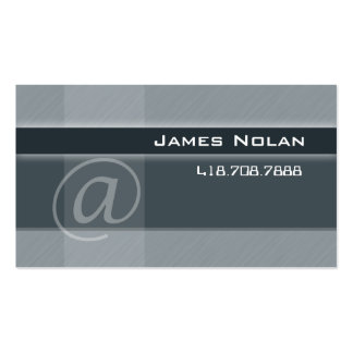 Computer Business Cards Gray Abstract Angle