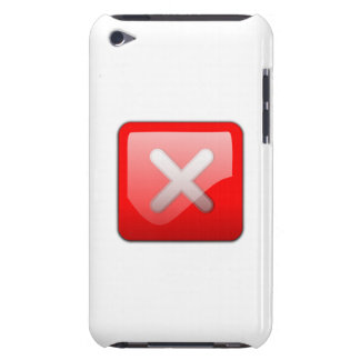Computer Cancel Button iPod Touch Cover