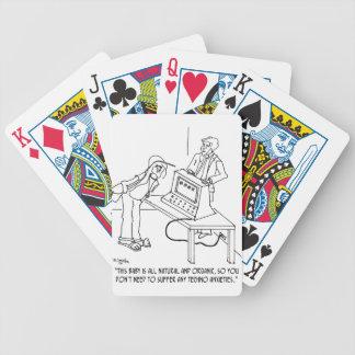 Computer Cartoon 0694 Bicycle Playing Cards
