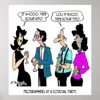 Computer Cartoon 5873 Poster