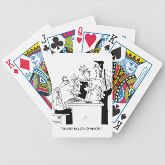 Computer Cartoon 6822 Bicycle Playing Cards