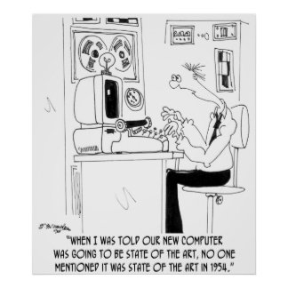 Computer Cartoon 7058 Poster