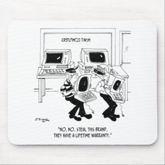 Computer Cartoon 7063 Mouse Pad