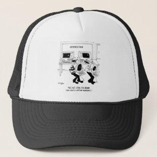 Computer Cartoon 7063 Trucker Hat