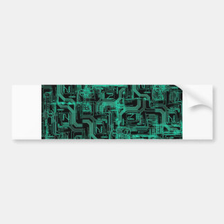 computer chip ecig skin/matrix bumper sticker