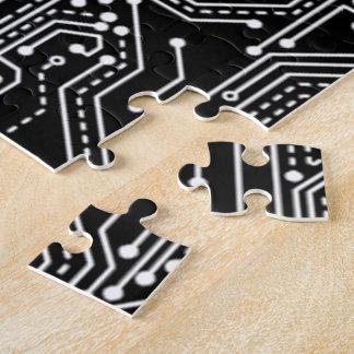 Computer Circuit Board 16 x 20 Puzzle