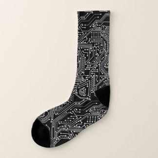 Computer Circuit Board All-Over-Print Socks 1