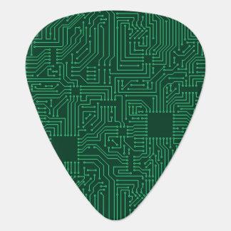 Computer circuit board guitar pick