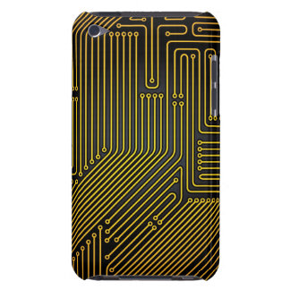 Computer circuit board pattern iPod touch cover
