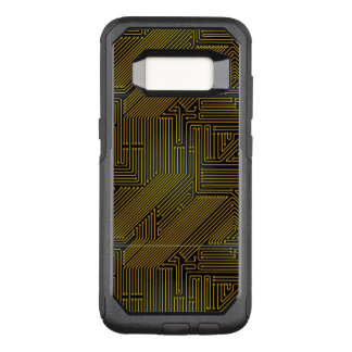 Computer circuit board pattern OtterBox commuter samsung galaxy s8 case