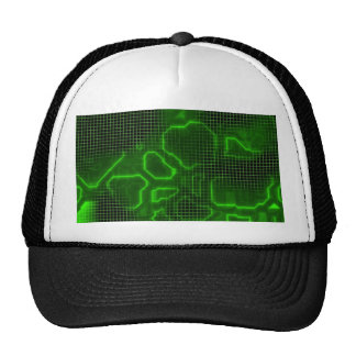 Computer Circuit Board Textured Hat
