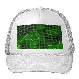 Computer Circuit Board Textured Trucker Hats