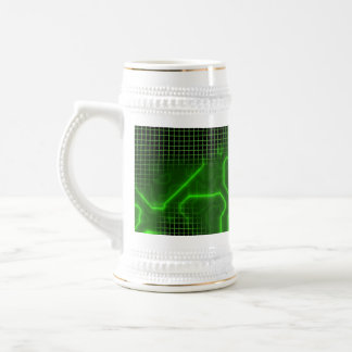 Computer Circuit Board Textured Mugs