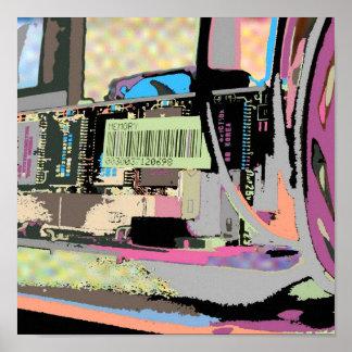 computer circuit poster