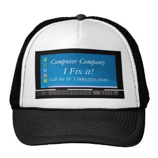 Computer Company Advertisment Cap