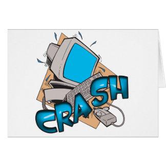 Computer Crash Card