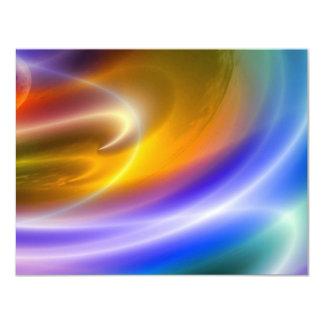 Computer Digital Abstract Invites Invitations