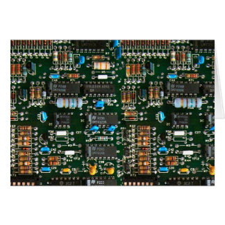 Computer Electronics Printed Circuit Board Card
