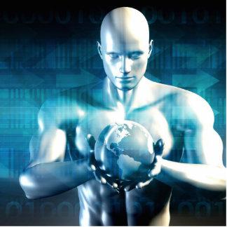 Computer Engineering Design Development Photo Sculpture Badge