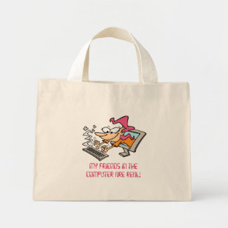 Computer Friends Bag