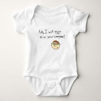 Computer Geek Baby Bodysuit