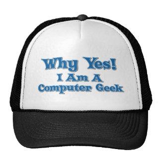 Computer Geek Cap